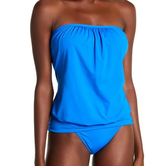02cf91ecda6ab Tommy Bahama Swim | Pearl Solid Blouson Bandini | Poshmark